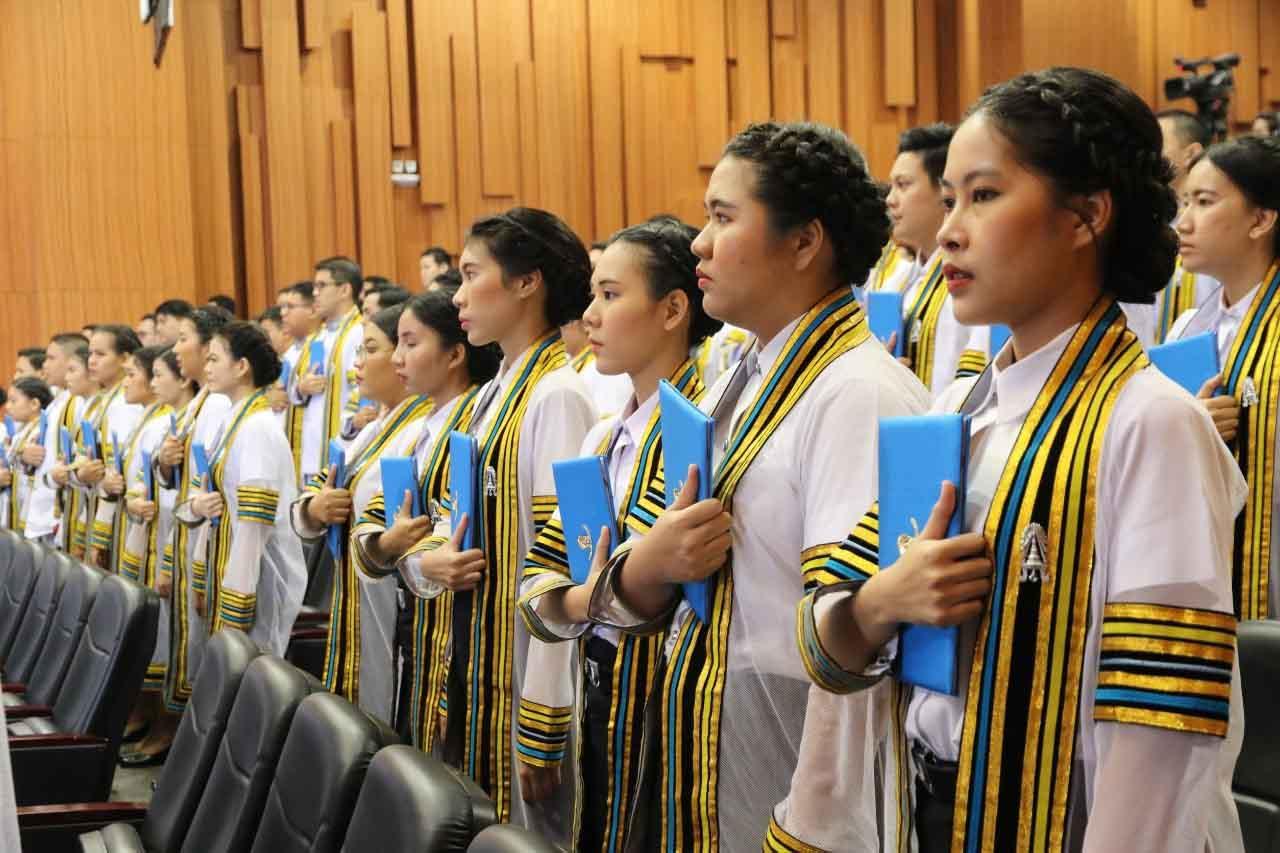 พิธีพระราชทานปริญญาบัตร ประจำปีการศึกษา 2561
