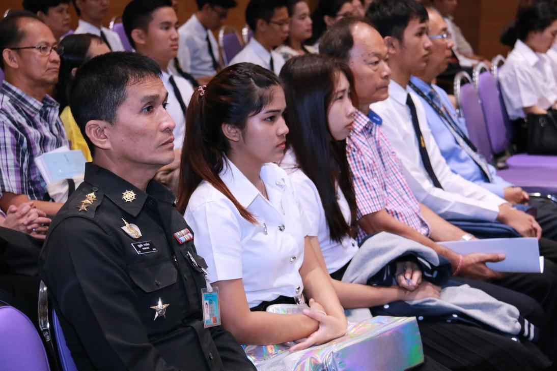 พิธีปฐมนิเทศและกิจกรรมแรกพบนักศึกษาใหม่ ประจำปีการศึกษา ๒๕๕๙