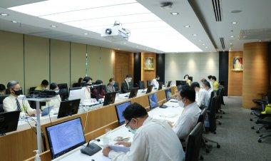 ประชุมการพัฒนาการสื่อสารองค์กร สถาบันเทคโนโลยีจิตรลดา ครั้งที่ 2/2563