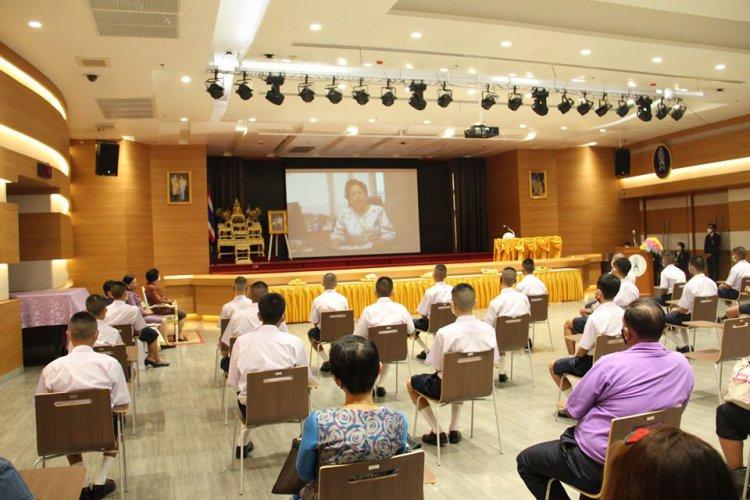 พิธีปฐมนิเทศและมอบตัวนักเรียนใหม่ ชั้นปี 1 ระดับ ปวช. ปีการศึกษา 2563