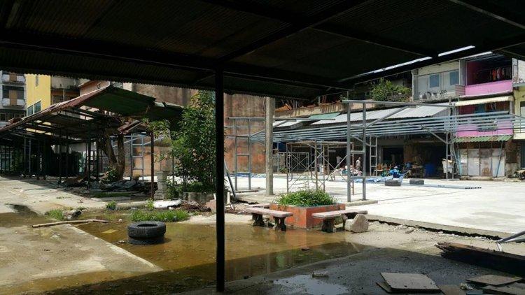 ตรวจการจ้างงานก่อสร้างหอพักนักเรียนนักศึกษาของสถาบันเทคโนโลยีจิตรลดา